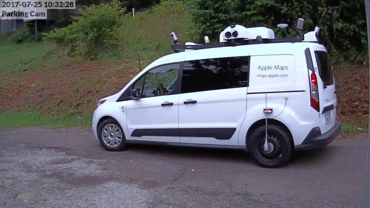 Ford Transit Van >> Apple Maps Van Spotted in North Versailles - YouTube