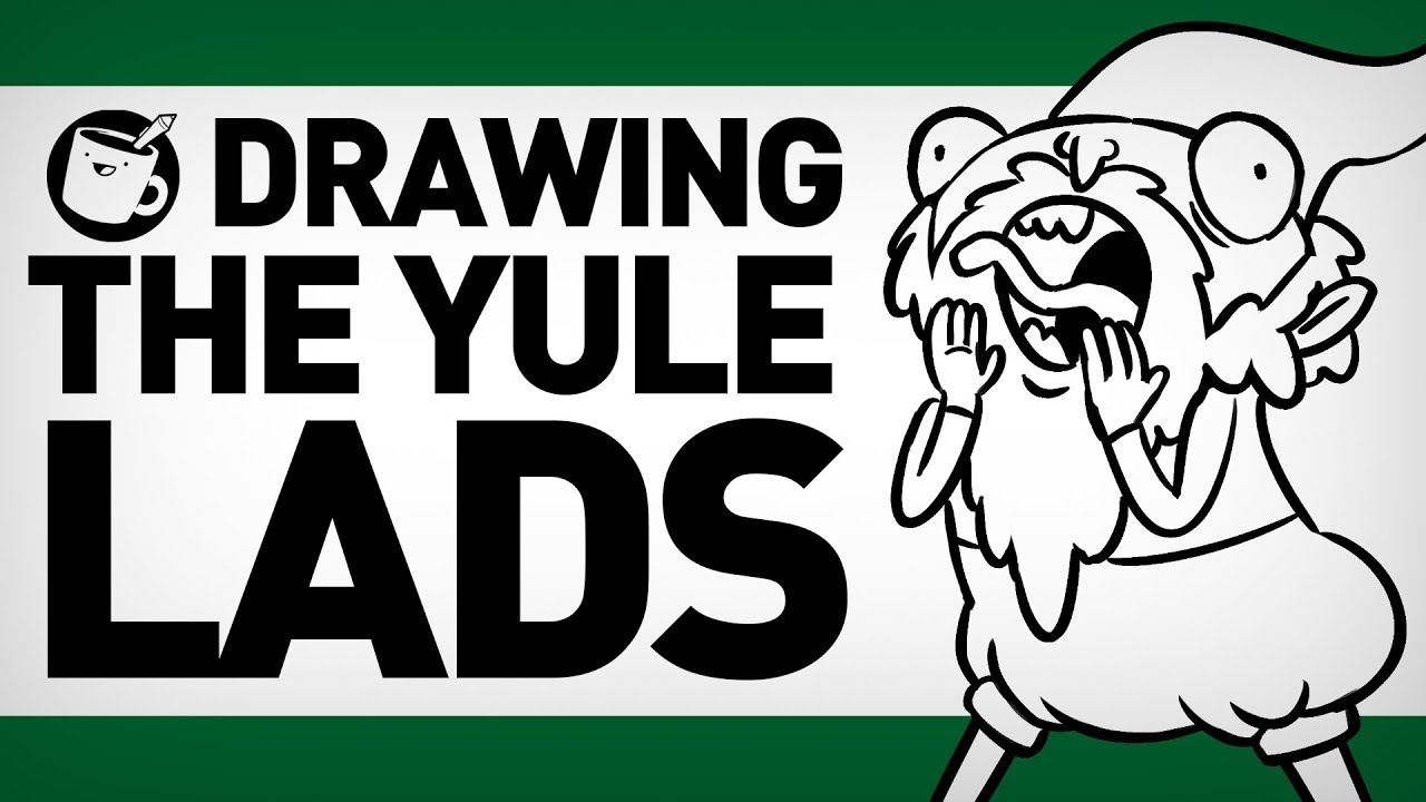drawing-the-yule-lads
