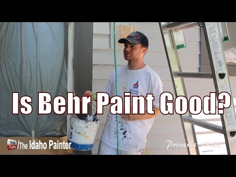 Behr Paint Review.  Should You Buy This Paint?
