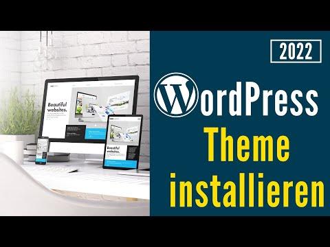 Wordpress Themes Kostenlos Free Installieren Deutsch