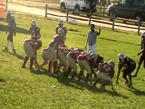 8th grader jordan taylor #4 doing all he can do for the GALLOWAY RENEGADES!!!