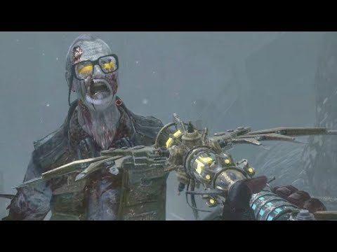 WIND STAFF vs GEORGE ROMERO - CoD Zombies Call of the Dead Custom Mod BO1