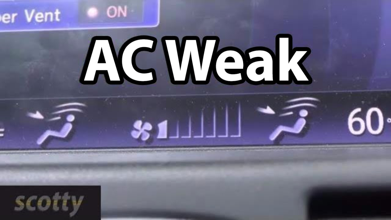 Fixing AC And Heaters That Blow Weakly