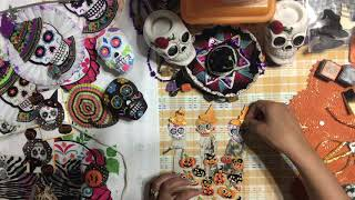DAY OF THE DEAD 💀#3 PAPER DOLL EMBELLISHMENT 💀 DIA DE LOS MUERTOS