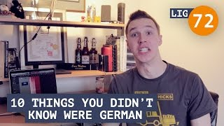 Life in Germany - Ep. 72: 10 Things you Didn't Know were German