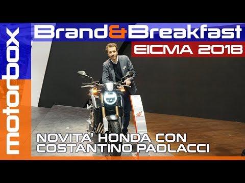 Novità Honda a Eicma 2018 | Le medie cilindrate Honda si rinnovano