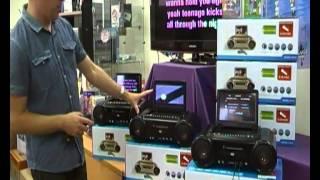 Karaoke Boom Box System - www.portablekaraoke.com.au