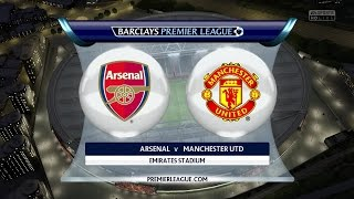 (PS4/Xbox One) FIFA 15 | Arsenal F.C. vs Manchester United - Next-Gen Full Gameplay (1080p HD)