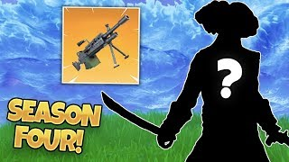 WHAT'S COMING IN SEASON FOUR? (Playing with TrendCrave Fortnite: Battle Royale)