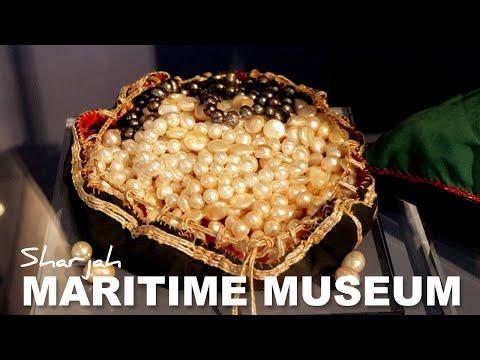 Sharjah Maritime Museum - UAE Shipping History - HD Video