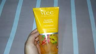 VLCC Turmeric & Berberis Face Wash Review | For Pimple & Fair Complexion