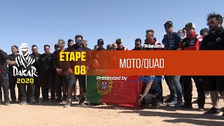 Dakar 2020 - Étape 8 (Wadi Al-Dawasir / Wadi Al-Dawasir) - Résumé Moto/Quad