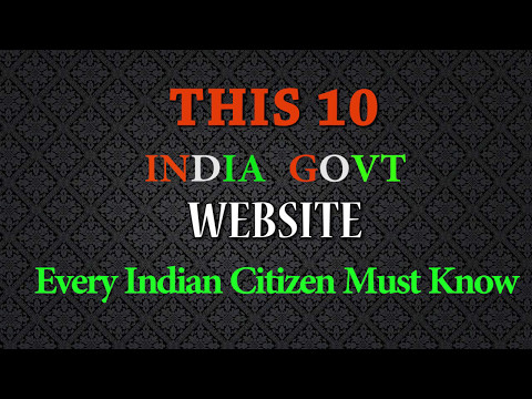 Modi government  10  Website for solved Indian Citizen problem