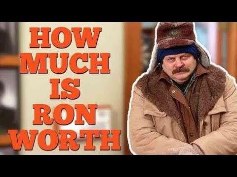 How Much Is Ron Swanson Worth?