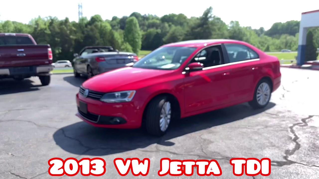 2013 VW Jetta TDI For Sale In Winston-Salem, NC 27105