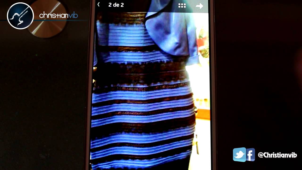 De Qué Color Es El Vestido Secreto Revelado Christianvib