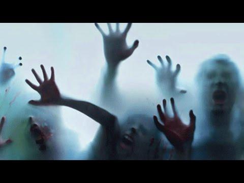 Spooky Halloween Window Projections