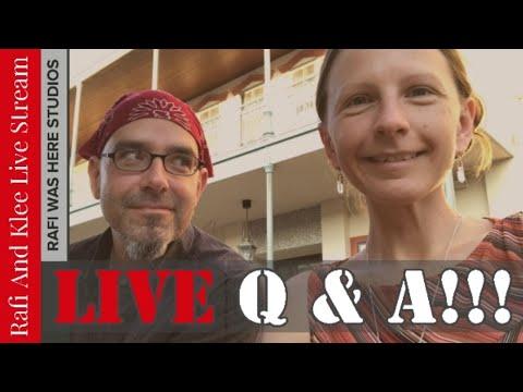 Artist Q and A Live Stream - April 2019