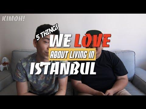 İstanbul'da Yaşamakla ilgili En Sevdiğimiz 5 Şey! Top 5 Things We Love About Living in Istanbul!