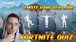 GUESS THE EMOTE FROM YOUR VOICE 🔇/FORTNITE QUIZ 📋