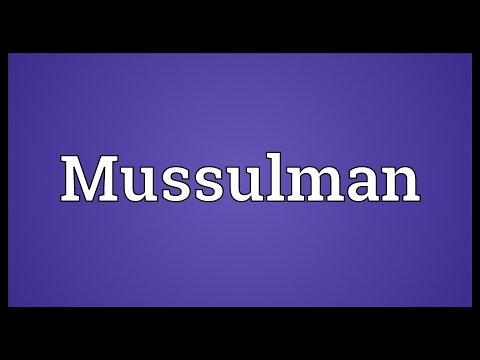 Header of Mussulman