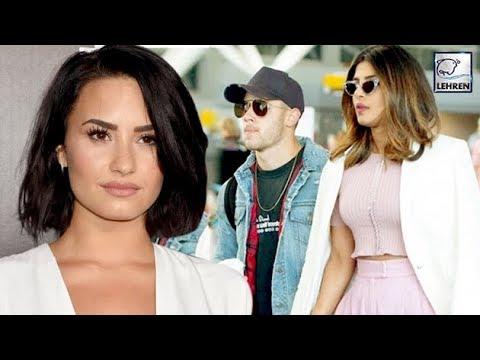Is Singer Demi Lovato Miffed Over Priyanka Chopra and Nick Jonas' Closeness? | LehrenTV Mp3