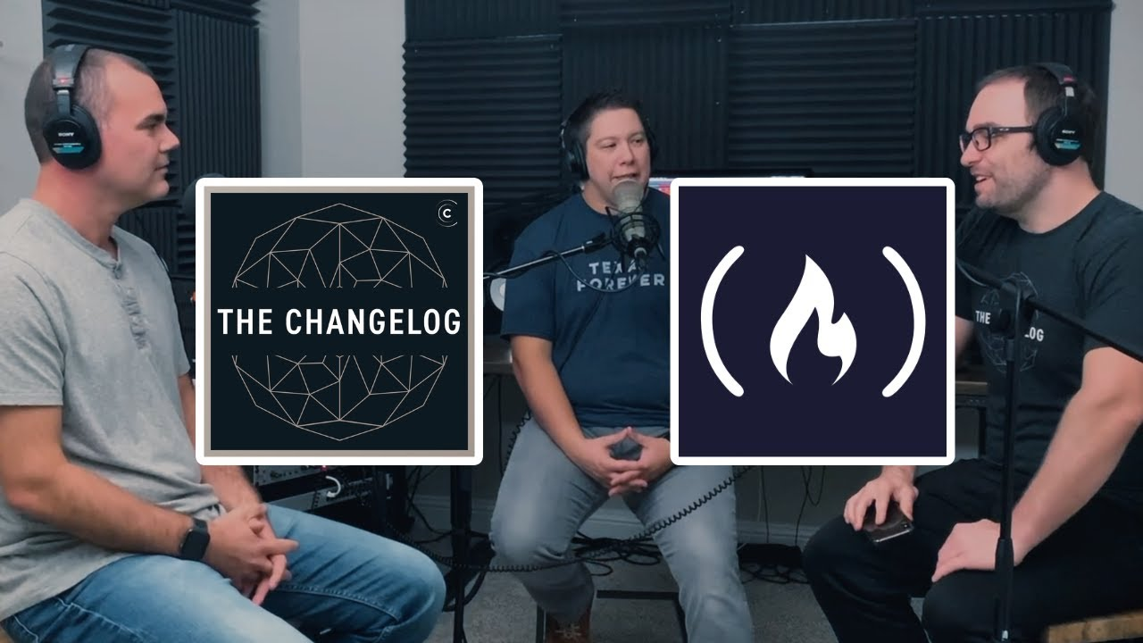 Quincy Interviews Open Source Legends The Changelog for their 10