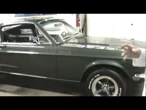 Bullitt Movie car goes home
