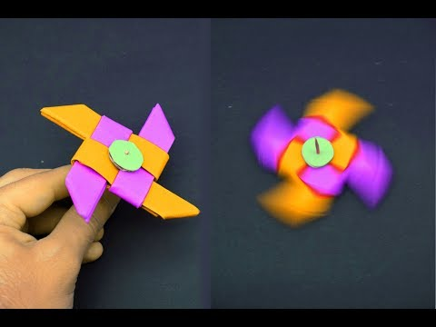 How to make a paper Fidget Spinner?