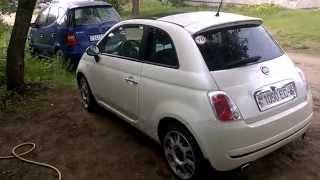 МИРа: Тест-драйв (обзор) автомобиля Фиат 500 (Fiat-500), часть 2