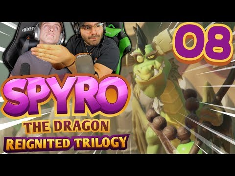 MASSAGE MY NECK! | Spyro Reignited Trilogy Part 8: [Spyro the Dragon Co-Op]