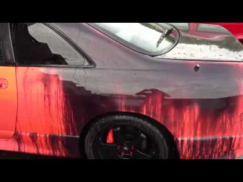 heat sensitive paint on car youtube