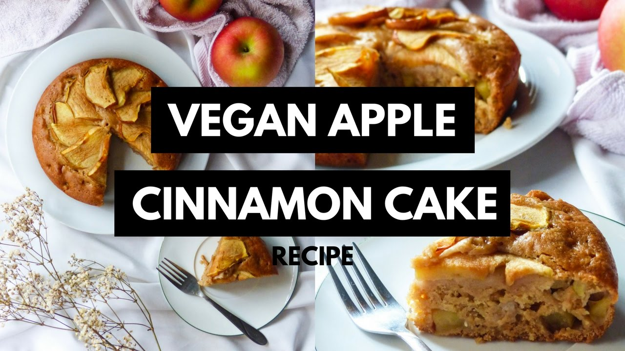 Apple Cinnamon Cake Recipe With Oil