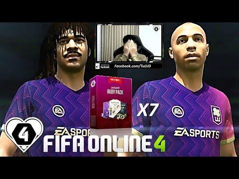 I Love FIFA | HIẾN MÁU 10 Củ TEST 7 GÓI RUBY Tháng 1: NGON VC LUÔN ^^