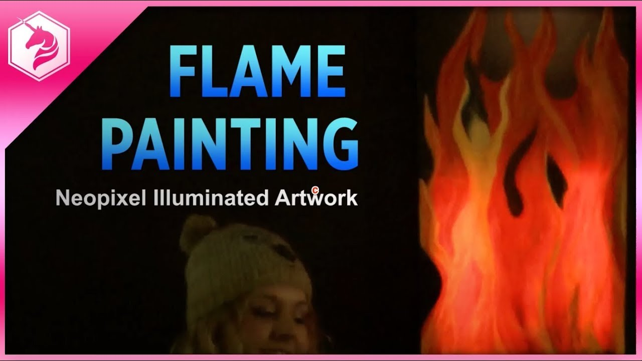 Ever-Burning Flame Painting