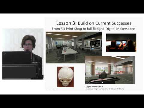 Lightning Talks:  Teaching and Learning in New Library Spaces