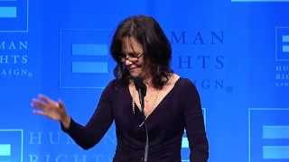 Sally Field Receives HRC's Ally For Equality Award