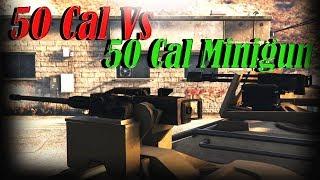 Gta 5 Online   Insurgent Pick Up Custom - 50 Cal Vs 50 Cal Minigun - Which To Buy??