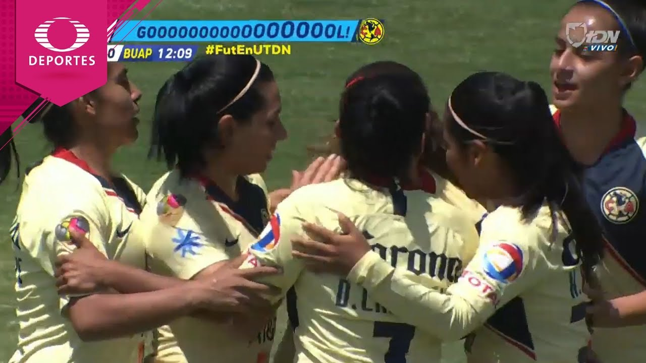 Gol de Daniela Espinosa | América 1 - 0 Lobos | Liga MX Femenil - J18 | Televisa Deportes