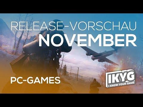 Games-Release-Vorschau - November 2018 - PC