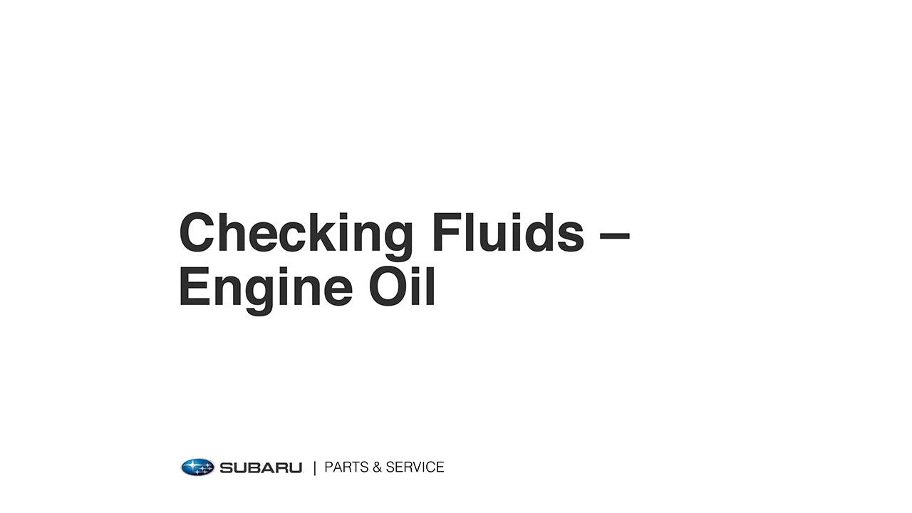 subaru 2 2 engine oil diagram [ 1280 x 720 Pixel ]