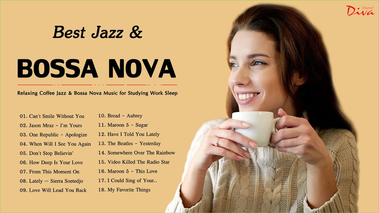 Best Jazz & Bossa Nova Songs Of 2021 | Music for Coffee, Relaxing, Work