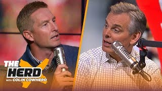 Joel Klatt talks NFL draft, says Kyler is a better runner coming out of college than Vick | THE HERD