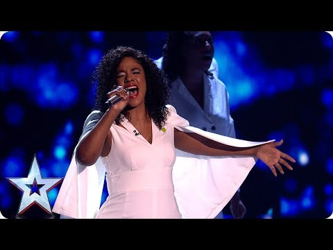 Leanne Mya mesmerises us all with 'Blinded by your Grace' | Semi-Finals | BGT 2019