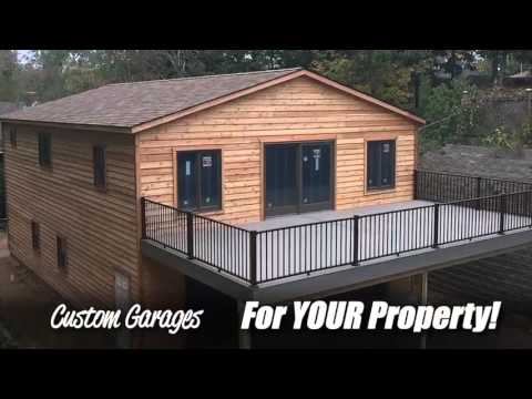Stoltzfus Structures 2 Story Mega Garage  YouTube