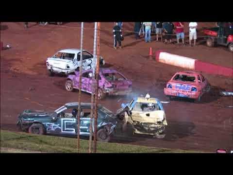 Dixie Speedway 8/29/15 Demolition Derby!