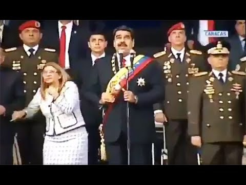 Maduro claims Colombia is behind assassination attempt