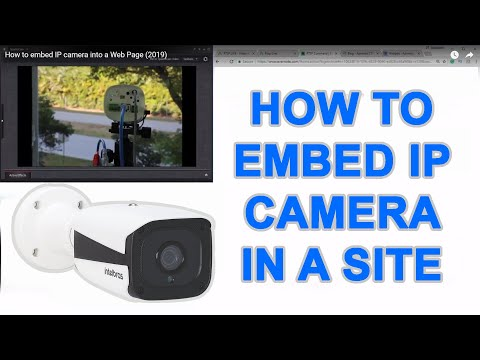 How To Embed IP Camera Into A Web Page