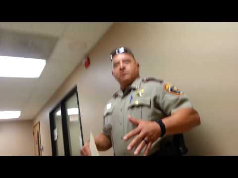 Police Harassment Over Police Complaint Kicked Out Sheriff's Office