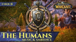 The Humans of Vanilla - Music & Ambience (1 hour, 4K, World of Warcraft Classic)